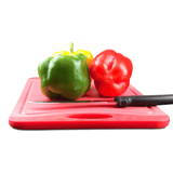 Orange, Red, and Green Cutting Board - 18 x 12