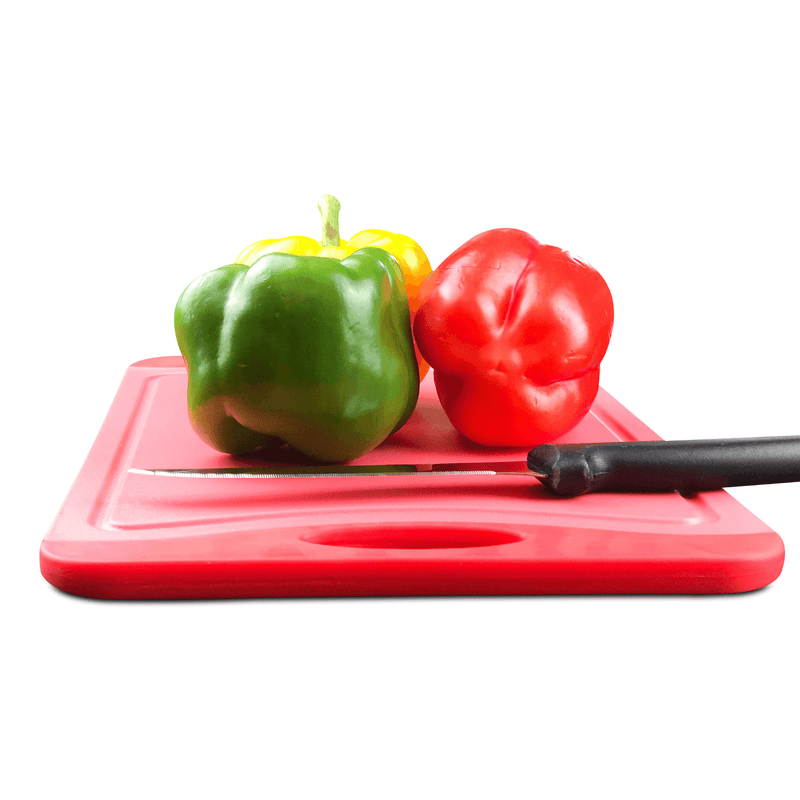 Red and Green Cutting Board - 18 x 12