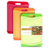 Orange, Red, and Green Cutting Board - 12 x 8