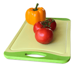 Green and Orange Cutting Board - 18 x 12