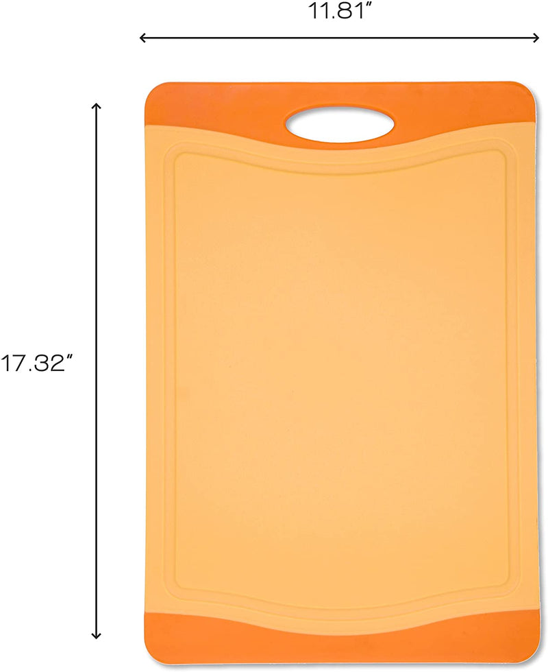 Orange Cutting Board - 18 x 12