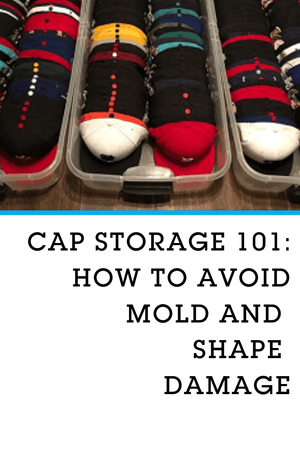 Cap storage 101 – How to avoid mold and shape damage