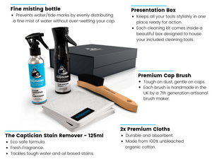 The Captician - Stain Removal Kit For Caps - Delivery In Early October