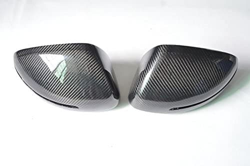 Audi 8J MK2 TTS TT S Line Carbon Fibre Mirror Cover Set (Stick-On) (2008 - 2014) - set your Audi TT apart from the rest - Suitable Cars: Audi 8J TT S Line (2011 - 2014) Audi 8J TTS (2008 - 2014)