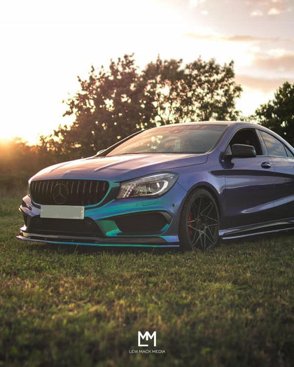 Mercedes CLA-Class W117 C117 Pre-Facelift CLA45 AMG/AMG Line Gloss Black GT Grille