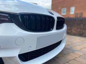 XXIITUNING -BMW F32 F33 F36 F80 F82 F83 M3 M4 Gloss Black M Style Front Grille Set (2013 - 2018) BMW F32 4 Series Coupe 2013-2018 BMW F33 Convertible 2013-2018 BMW F36 Gran Coupe 2013-2018 BMW F80 M3 Saloon 2013-2018 BMW F82 M4 Coupe 2013-2018 BMW F83 M4 Convertible 2013-2018 Free Shipping Worldwide.