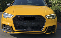 Audi 8V A3 S3 RS3 Honey Comb Grille With ACC (2017 - 2019)