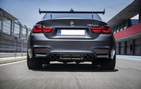 GTS Style BMW Motorsport Carbon Fiber Rear Wing Spoiler