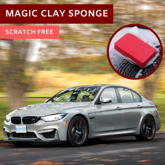 BMW F80 M3 M4 M5 M6 M2 M2C Cleaning Magic Clay Shine Car Clay Bar Sponge
