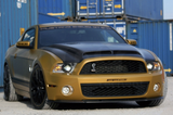 Mustang 5th Gen. Carbon Fibre GT500 style Hood Kit 2013 - Super Snake Gt500 Design 5th Generation Ford Mustang Carbon Hood Bonnet with vents.  Suitable CarsFord Mustang 5th Generation (2013)