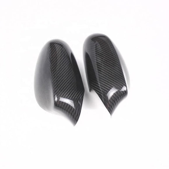 BMW E81 E82 E87 E88 1 Series Pre LCI Carbon Fibre Mirror Covers (2004 - 2009)
