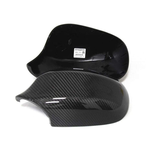 BMW E90 E91 3 Series LCI Carbon Fibre Replacement Mirror Covers (2009 - 2013)