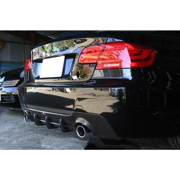 BMW E92 E93 335D 335I 3 Series Carbon Fibre M Tech Style Rear Diffuser (2005 - 2013)