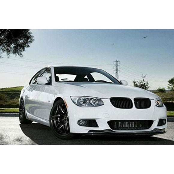 BMW E92 E93 3 Series LCI Carbon Fibre AK Style Front Lip Kit (2008 - 2013)