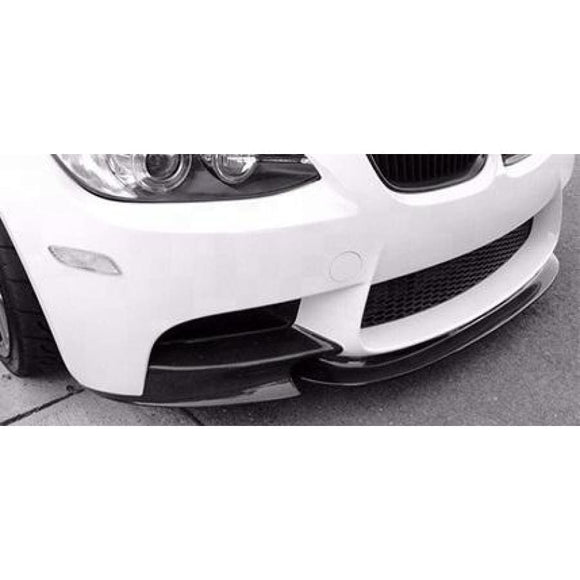 BMW E92 E93 M3 3 Series Carbon Fibre M Performance Style Front Splitters (2005 - 2013)