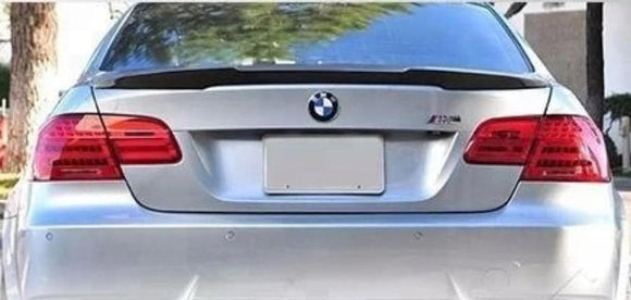BMW E92 E93 3 Series Carbon Fibre V Style Rear Spoiler (2005 - 2013)
