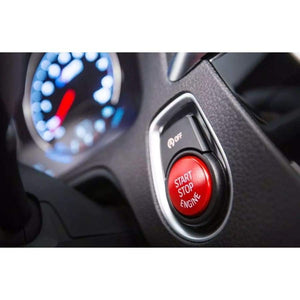 BMW F Series Red Replacement Stop Start Button - INTERIOR