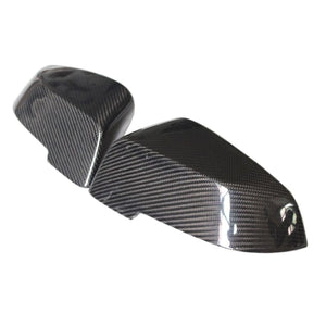 BMW F10 F11 F18 5 Series LCI Carbon Fibre OEM Style Replacement Mirror Covers (2014 - 2017)