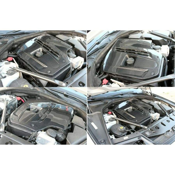 BMW F10 5 Series Carbon Fibre Engine Cover (2010 - 2017)