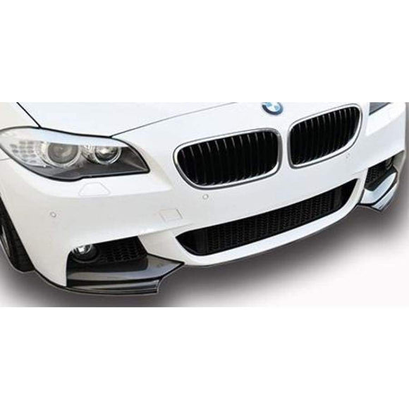 BMW F10 5 Series Carbon Fibre M Performance Style Front Splitter Kit (2010 - 2017)