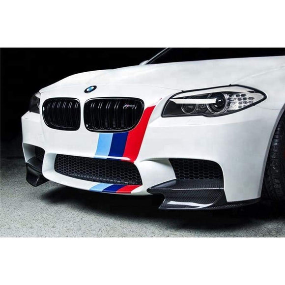 BMW F10 M5 Carbon Fibre M Performance Style Front Lip Splitter Kit (2010 - 2017)
