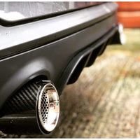 BMW 1 Series M135I M140I M Performance Carbon Fibre Style Exhaust Tips