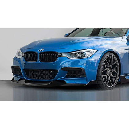 BMW F30 F31 F35 3 Series Carbon Fibre MAD Style Front Lip Spoiler Kit (2012 - 2018)