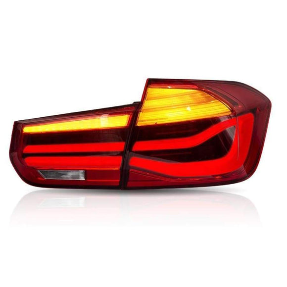 BMW F30 F80 M3 3 Series Plug and Play LCI Rear Light Upgrade Units (2012 - 2018)