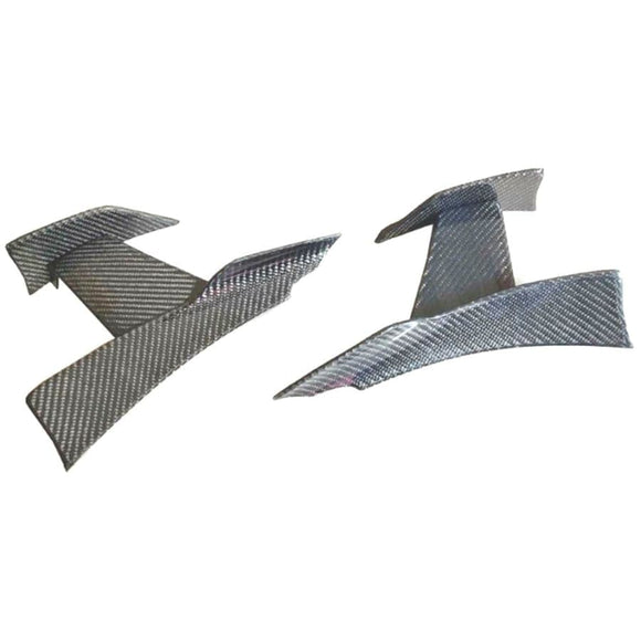 BMW F80 M3 F82 F83 M4 F Series PSM Style Carbon Fibre Front Canards (2012 - 2018)