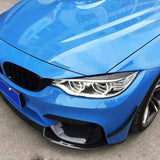 BMW F80 F82 F83 M3 M4 Carbon Fibre Headlight Covers (2013 - 2018)