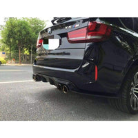 BMW F85 X5M Carbon Fibre 3D Design Style Rear Diffuser Kit (2014 - 2018)