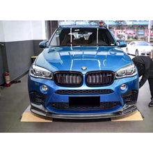 Load image into Gallery viewer, BMW F85 X5M 3D DESIGN CARBON FRONT LIP 2016+ - FRONT BUMPER