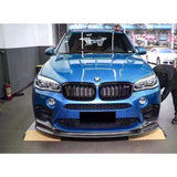 BMW F85 X5M Carbon Fibre 3D Design Style Front Lip Kit (2014 - 2018)