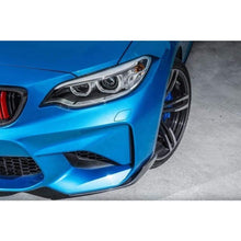 Load image into Gallery viewer, BMW F87 M2 Carbon Fibre M Performance Style Front Splitters (2014 - 2019)