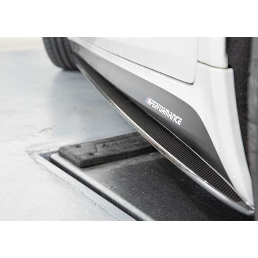 BMW G30 5-serie carbonvezel M Performance Style Side Skirt Extension Kit (2018 - 2020)