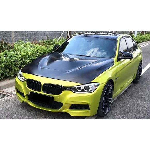 BMW F30 F32 F80 F82 3/4 Series Carbon Fibre GTS Style Bonnet/Hood Replacement (2012 - 2018)