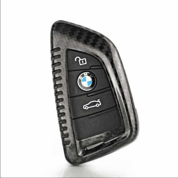 CARBON PROTECTIVE KEY COVER FOR BMW X5 X6 X1 - DOOR HANDLES