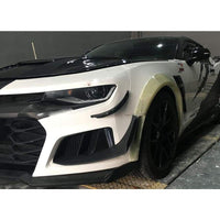Chevrolet Camaro Carbon Fibre Wheel Arch Extension Kit (2016 - 2019)