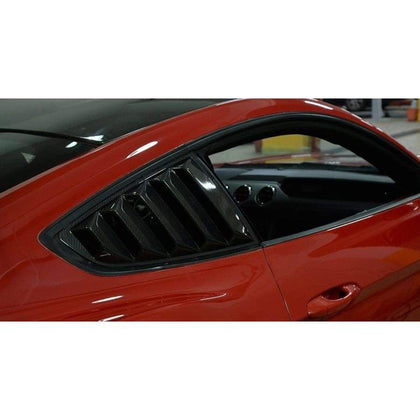 Mustang 6th Gen. Carbon Fibre Rear Window Trim Kit (2015 - 2017)