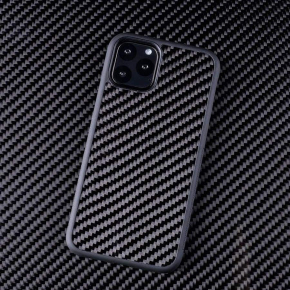 iPhone 11 - 11 Pro - 11 Pro Max Carbon Fibre Protective iPhone Case - ACCESSORIES