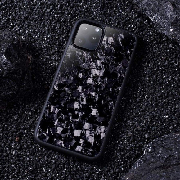 iPhone 11 - 11 Pro - 11 Pro Max Real Forged Carbon Protective Phone Case - ACCESSORIES