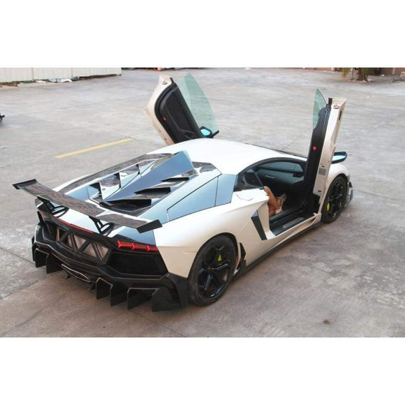 Lamborghini Aventador LP700 LP700-4 Roadster 2010 - 2016 Carbon Fibre Rear Engine Cover Trim - Engine Cover