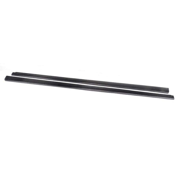 Mercedes Benz W204 Facelift C63 AMG Saloon Carbon Fibre Side Skirt Extension Kit (2012 - 2014)