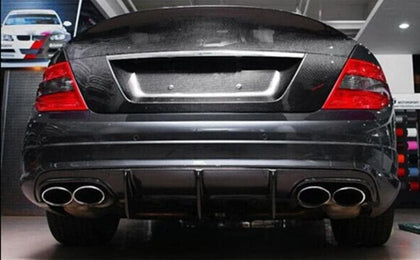 Mercedes Benz W204 C63 AMG Pre-Facelift Carbon Fibre AMG Rear Diffuser Kit (2008 - 2011)