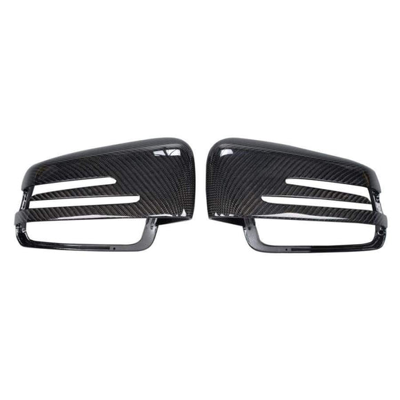 Mercedes Benz W204/C207/A207/C117/W212/W221/W216/W218 Carbon Fibre Replacement Mirror Covers (2006 - 2019)