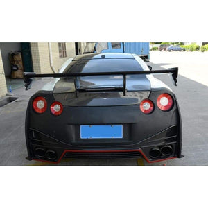 Nissan R35 GTR Carbon Fibre Rear Wing Spoiler Kit (2007 - 2016)