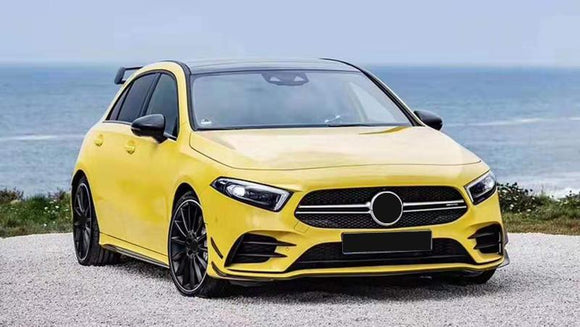 Mercedes Benz W177 A-Class Gloss Black Full Accent Kit (2018 - 2020)