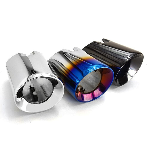 BMW F20 F21 M135I M140I Stainless Steel Slash Cut Exhaust Tips Set (2014 - 2019) The Outlet size of these Exhaust tips is 3.5 Inch (89mm) Black Chrome Stainless Steel Polished Stainless Steel Burnt Tipped Stainless Steel BMW F20 1 Series M135I M140I (2012 - 2018) BMW F21 1 Series M135I M140I (2012 - 2018)