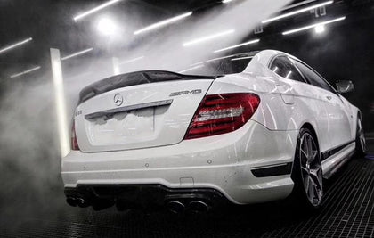 Mercedes Benz W204/C204 AMG Line & C63 Coupe R Style Rear Spoiler (2008 - 2014)