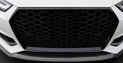 Audi B9 A4/S4 Gloss Black Honeycomb RS4 Style Front Grille (2016 - 2020)